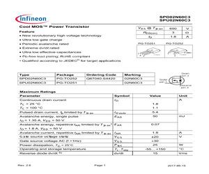 SPD02N60C3BTMA1.pdf